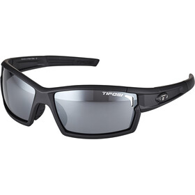 Tifosi Escalate SF Lunettes Homme, matte black - smoke/ac red/clear